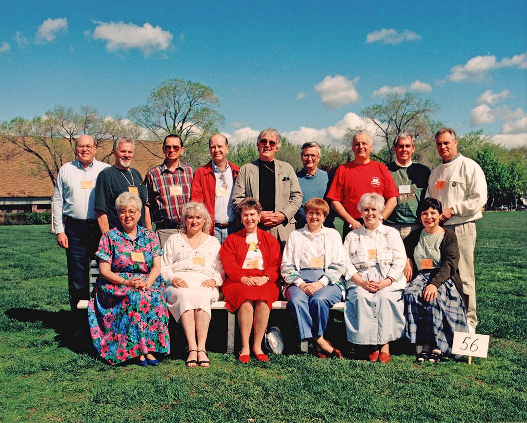 Class of 56 at 1995 Reunion