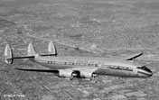The Lockheed Super Constellation a giant in its day - was used by Trans-Canada Air Lines on long distance routes.
