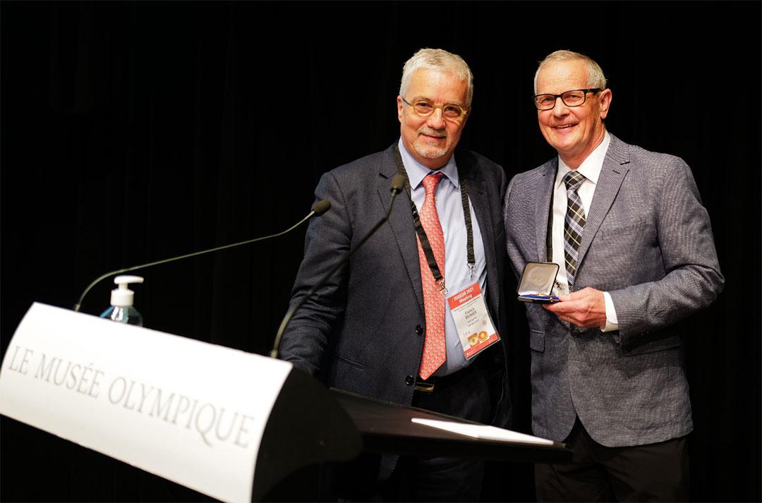 Dr. Ian M. MacDonald receives Adolphe Franceschetti Medal