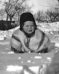 1945 (when I first saw snow) was when my family visited Montreal from our home in Buenos Aires.