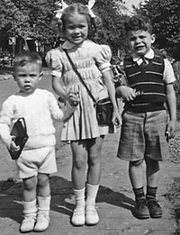 You're taking us where?  John, Jean and Bob in Argentina -1946