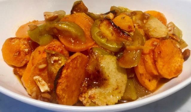 Roasted Sweet Potato & Apples