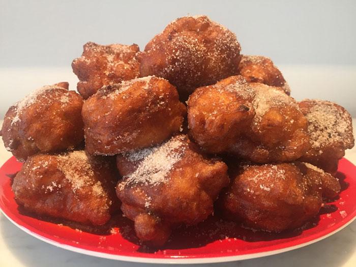 Sweet Potato Fritters by Brita Housez (Stolz)