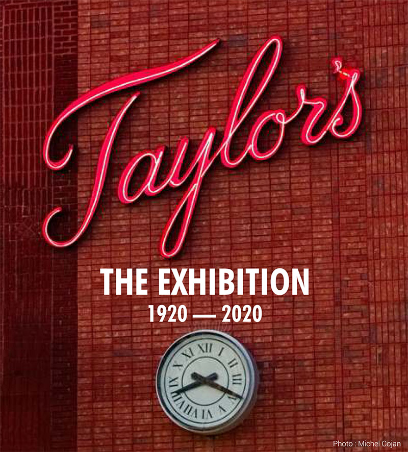 Taylor's The Exhibition